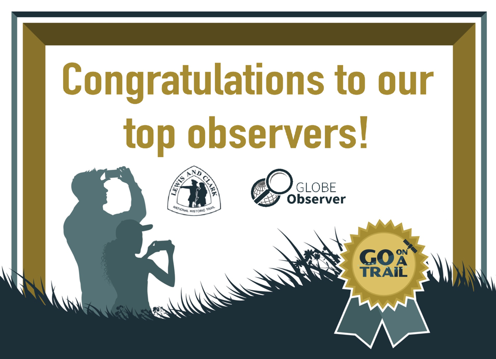 Congratulations to our Top Observers!