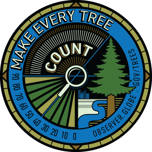 Trees Sticker - Make Every Tree Count