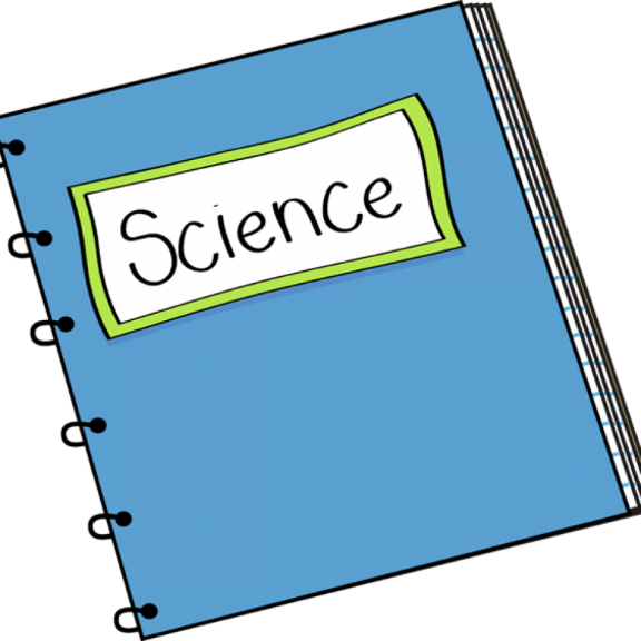 Sample science journal cover