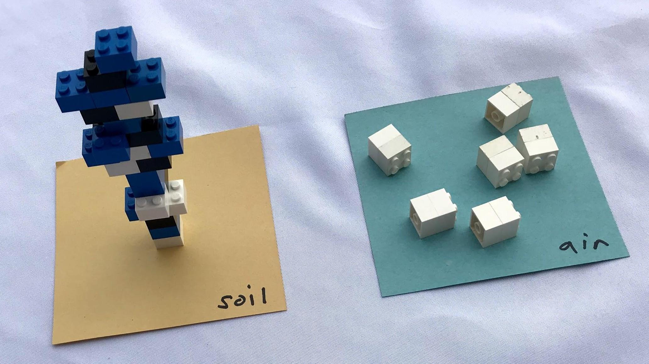 Blocks for the tree building activity